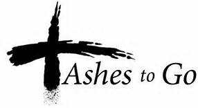 Ashes to Go - Click here for schedule
